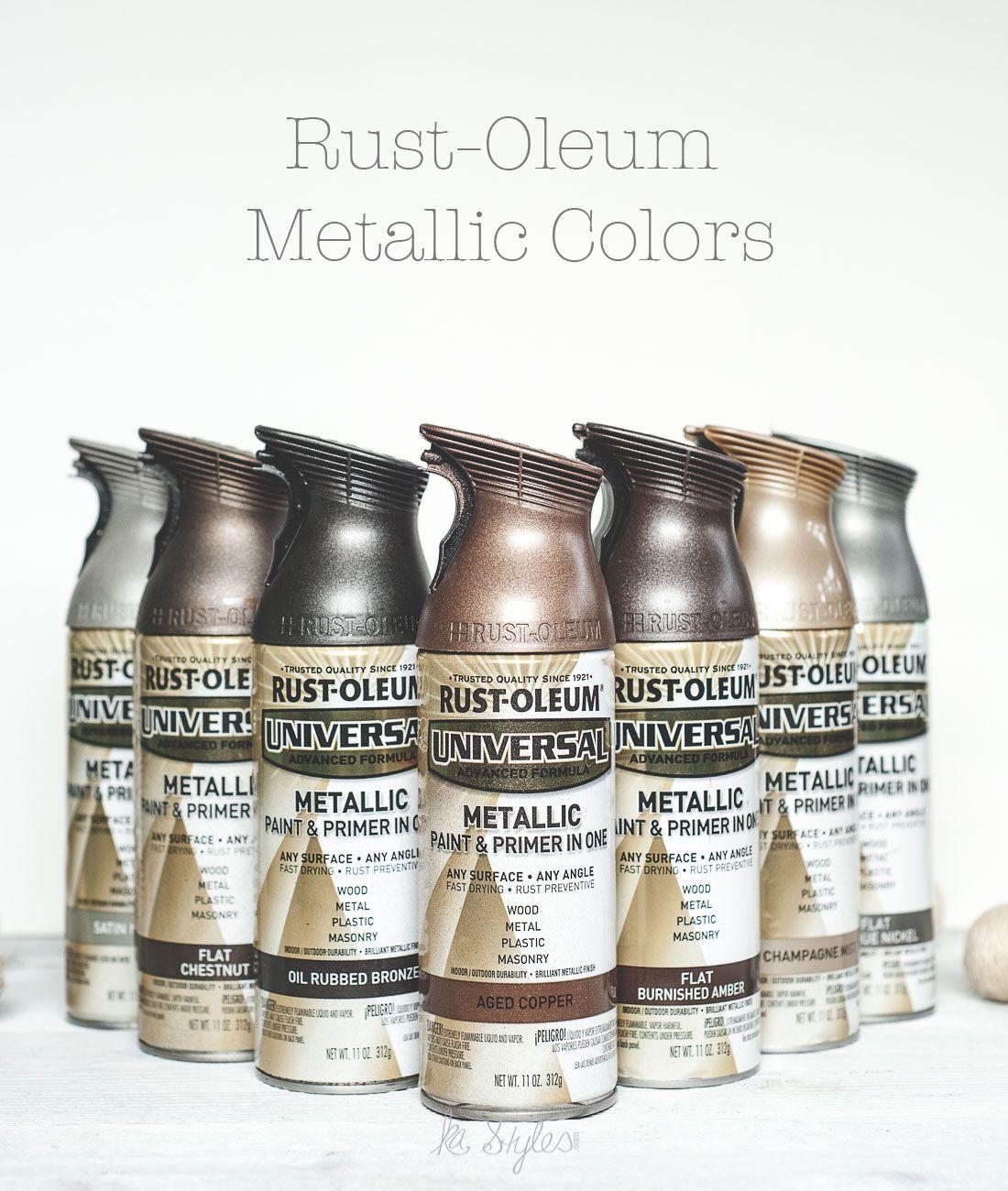 rust oleum metallic spray paints diy home metallic spray paint metallic spray paint colors. Black Bedroom Furniture Sets. Home Design Ideas