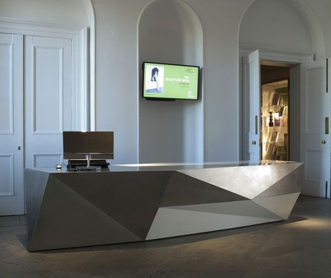 Gallery One Reception Desk Architecture/Office Spaces Pinterest