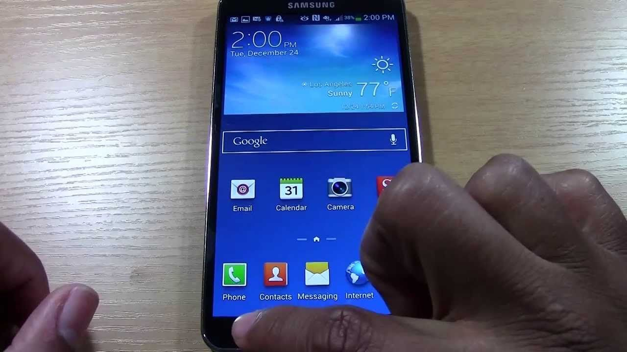 Galaxy Note 3 For Beginners Part 2 H2techvideos Galaxy Note 3 Galaxy Note Notes