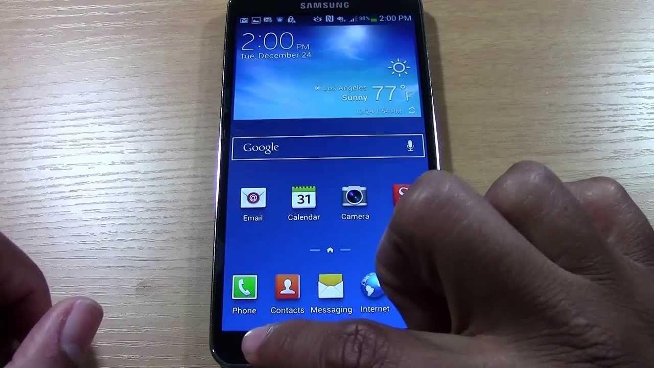 Galaxy Note 3 For Beginners Part 2 H2techvideos Galaxy Note 3 Galaxy Note Notes