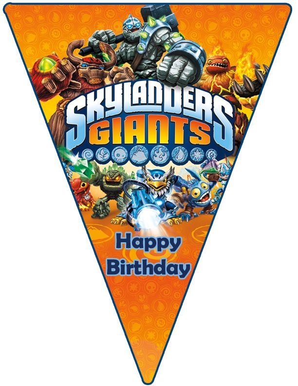 Click This Image To Show The Full Size Version Skylanders Party 9th Birthday