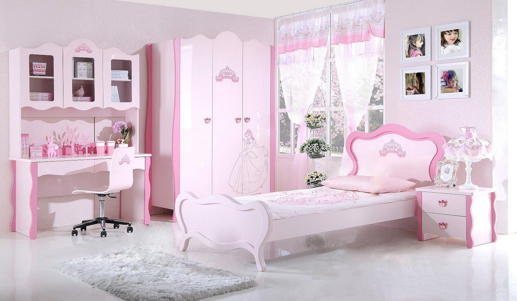 Trop mignonne cette jolie Chambre enfant complète rose design ...