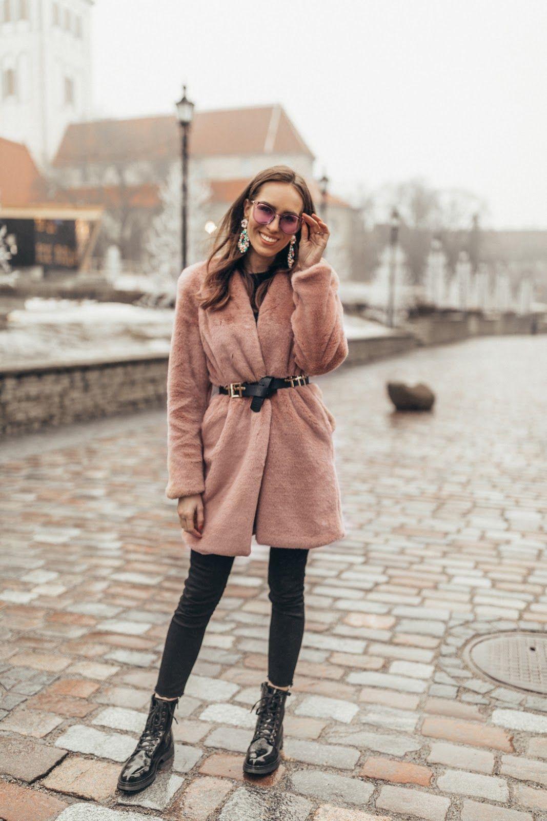 Black Belt Pink Fur Coat Outfit Fur Coat Outfit Pink Fur Coat Outfit Pink Fur Coat [ 1600 x 1067 Pixel ]