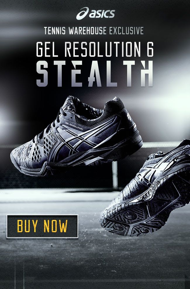 Asics Gel Resolution 6 Stealth Men's Shoes