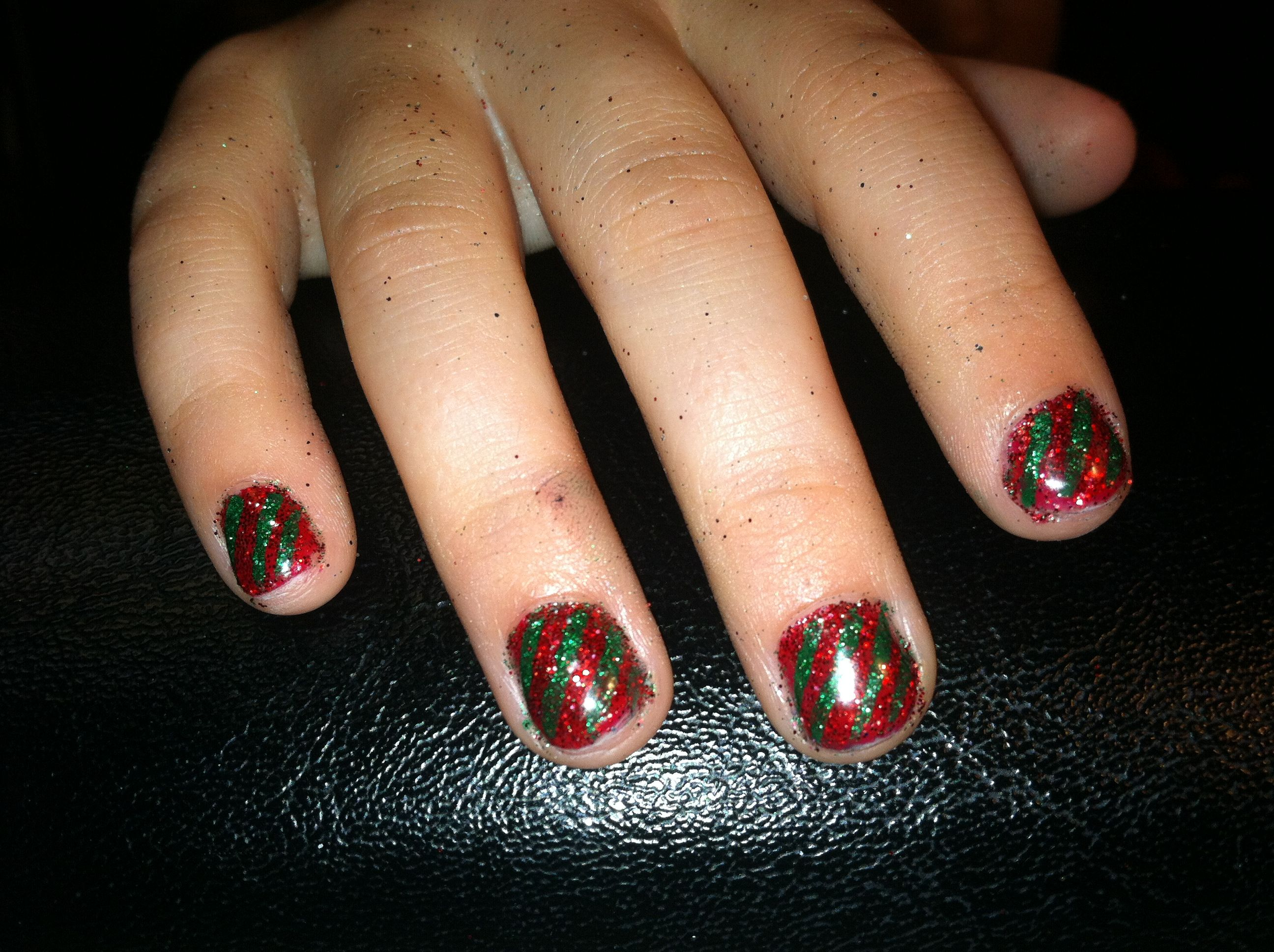 Ready for Santa!   (Nails by Tammy)