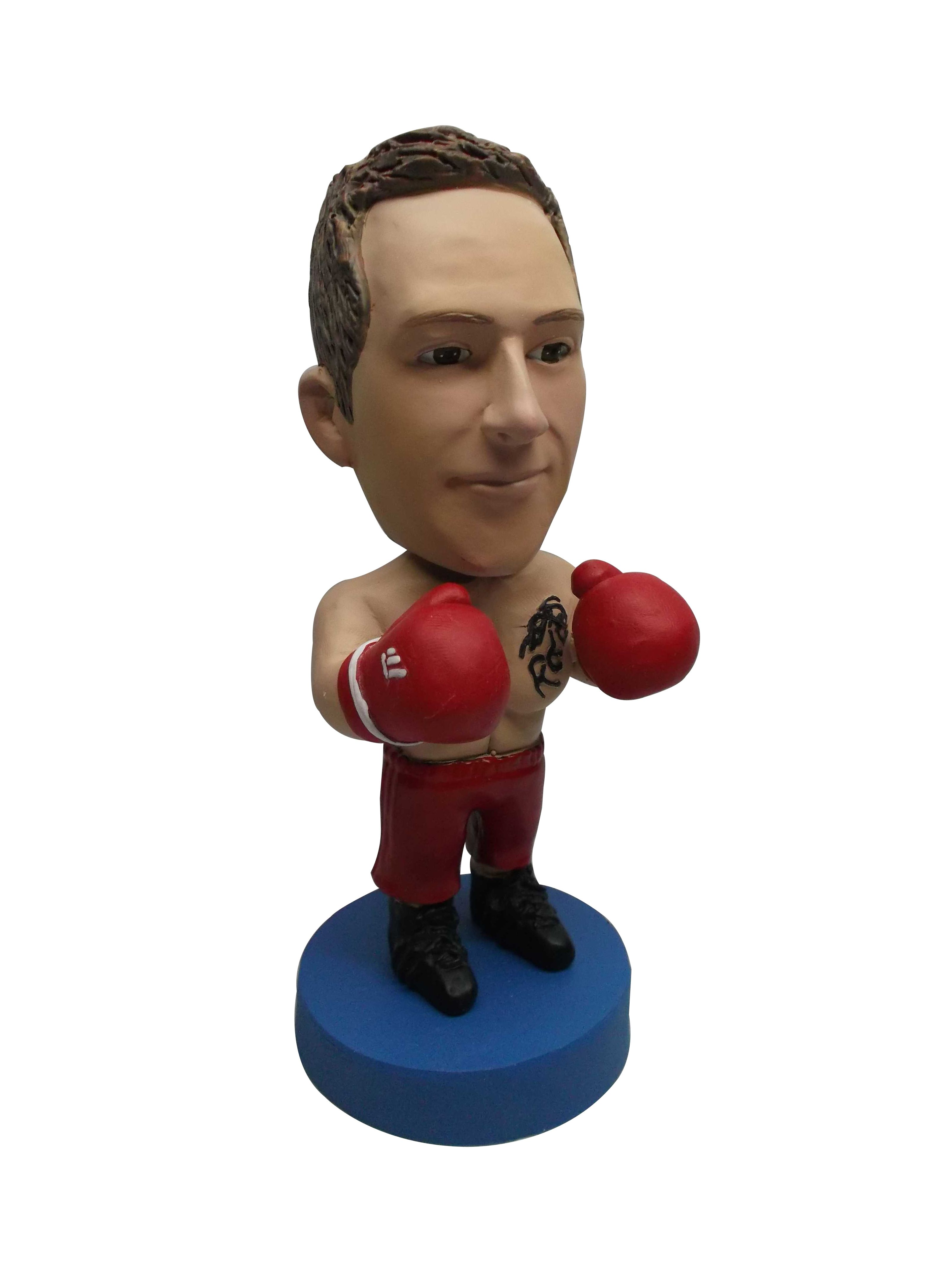 Order the bobbleheads with your own face. It make the remembering ...