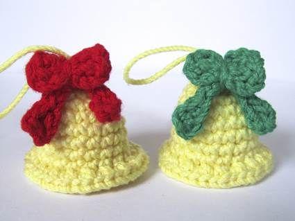 Adornos de Navidad con Crochet