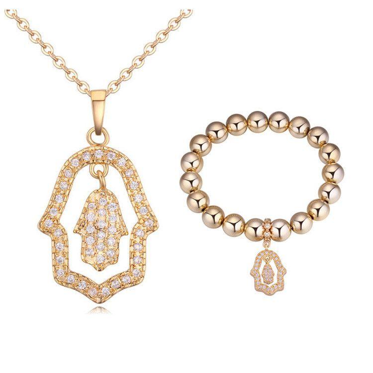 I Love The Palm Jewelry Set