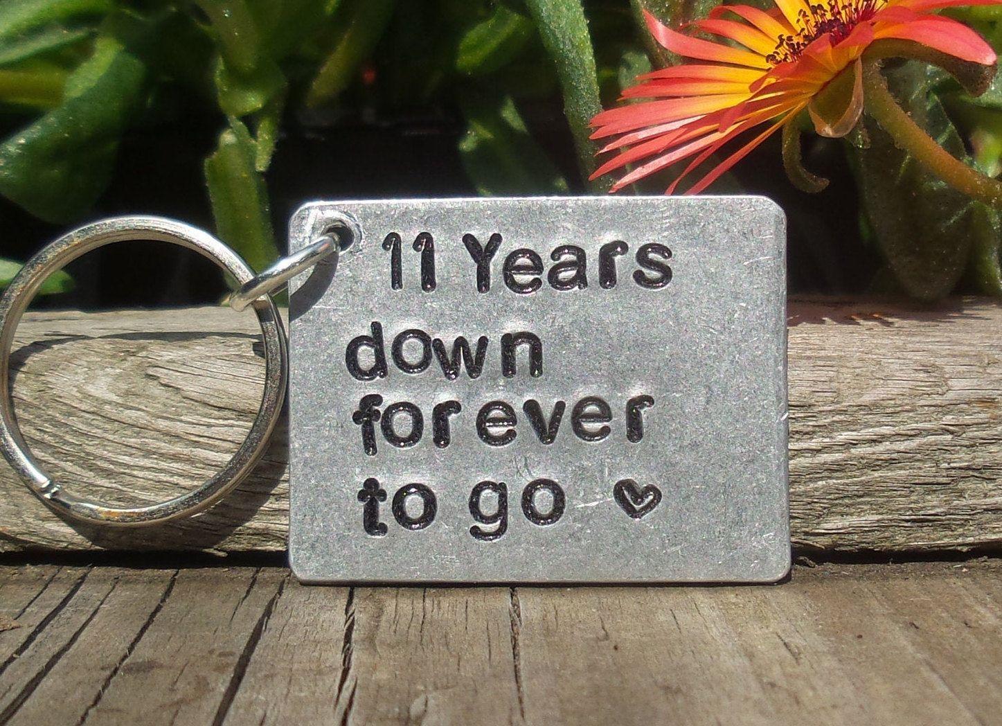 11th anniversary gift steel
