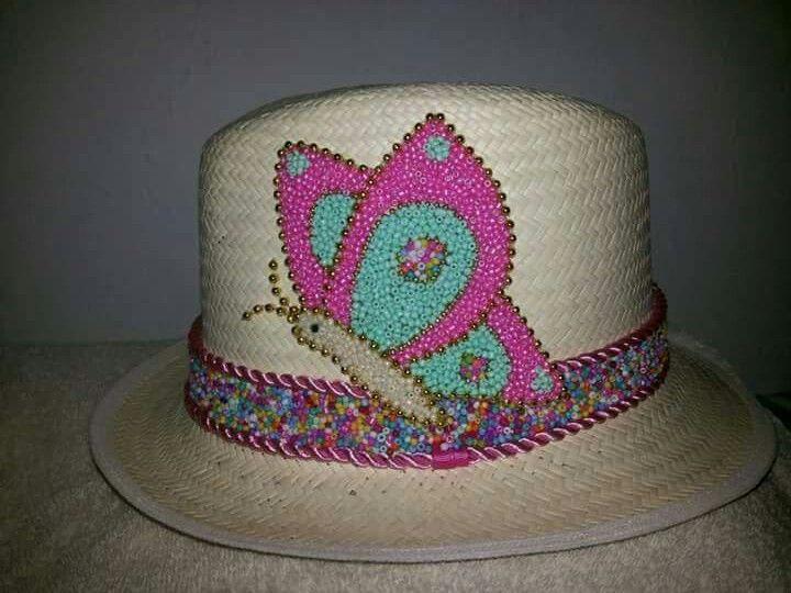 Pin by nancy sthella vargas fl rez on manualidades - Decoracion de sombreros ...