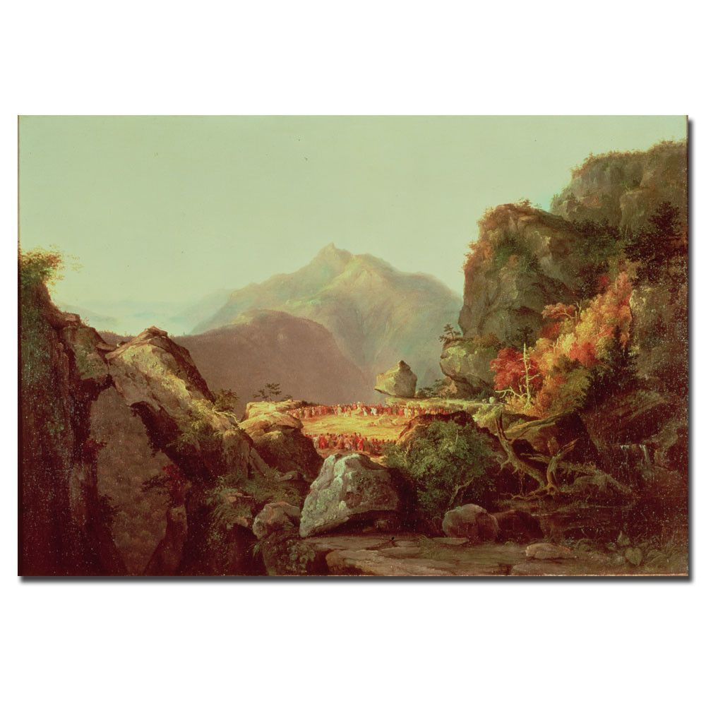 The Last of the Mohicans by James Cooper Painting Print on Wrapped Canvas
