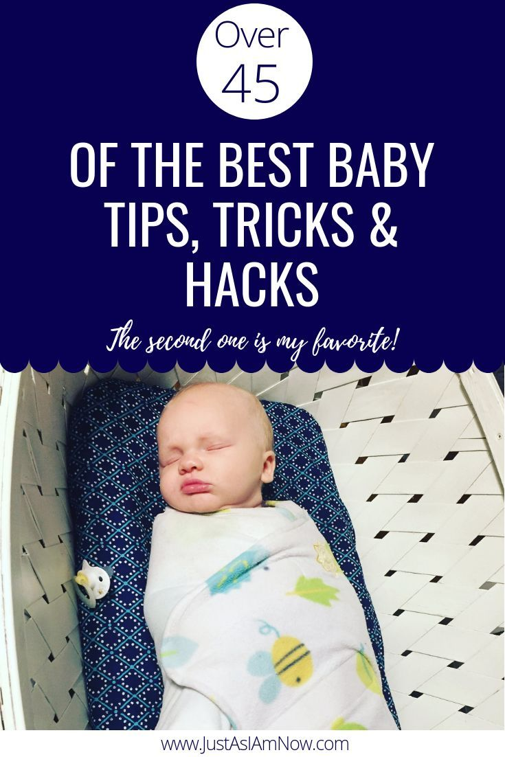 The Best Baby Hacks Out There! - Just As I Am Now