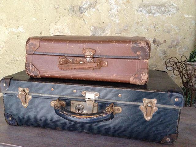 les couleurs de l automne maison de famille malles pinterest valise valise en carton. Black Bedroom Furniture Sets. Home Design Ideas