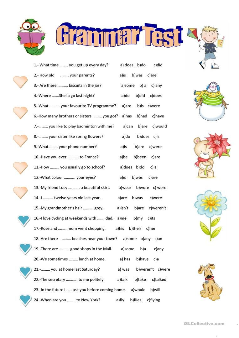 grammar test worksheet free esl printable worksheets made by teachers grammar exercise. Black Bedroom Furniture Sets. Home Design Ideas