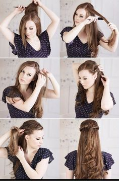cowgirl hairstyles for long hair - Google Search | Hair | Pinterest ...