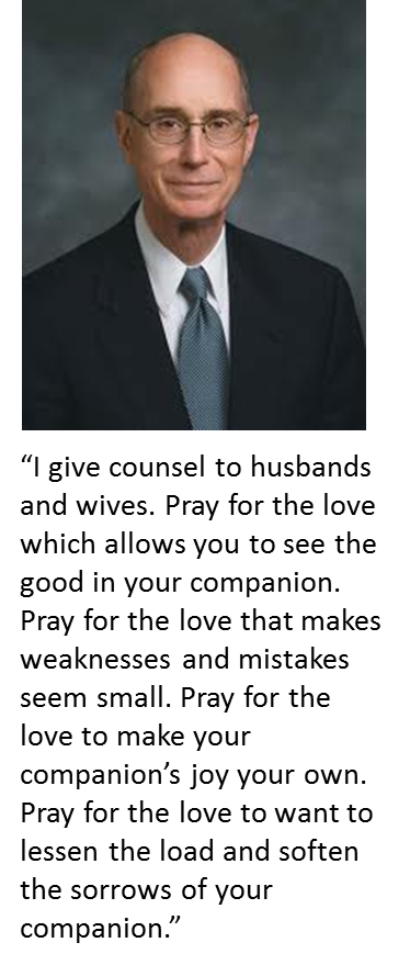 Henry B Eyring on Marriage---I love this
