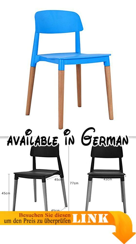 B078SMDKMP : Stuhl Modern Simple Massivholz Esszimmerstuhl Haushalt ...