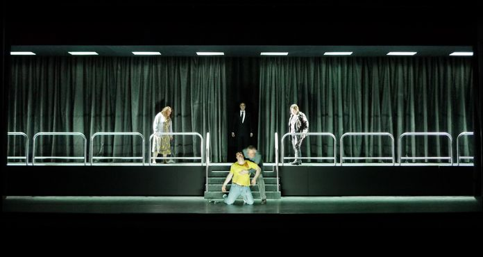 Klaus Grünberg – Set design for Wagner's Die Walküre, Staatsoper Hannover, 2010