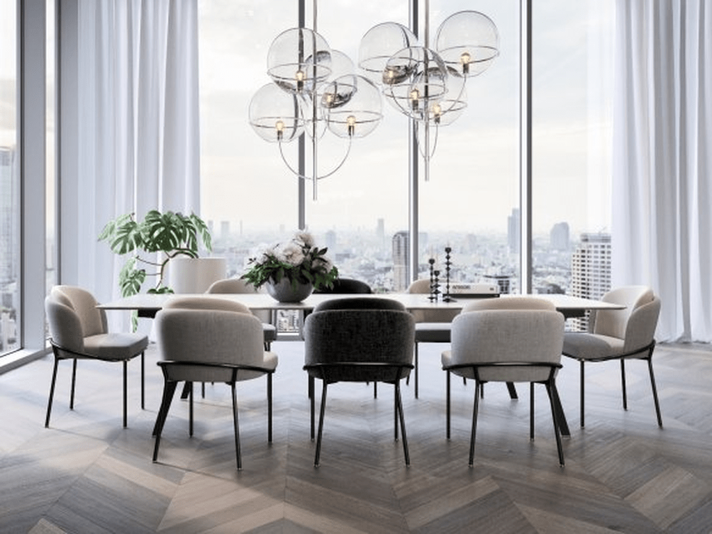 30 Admirable Dining Chair Design Ideas You Must Have Homyhomee Dining Room Contemporary Luxury Dining Room Dining Chair Design