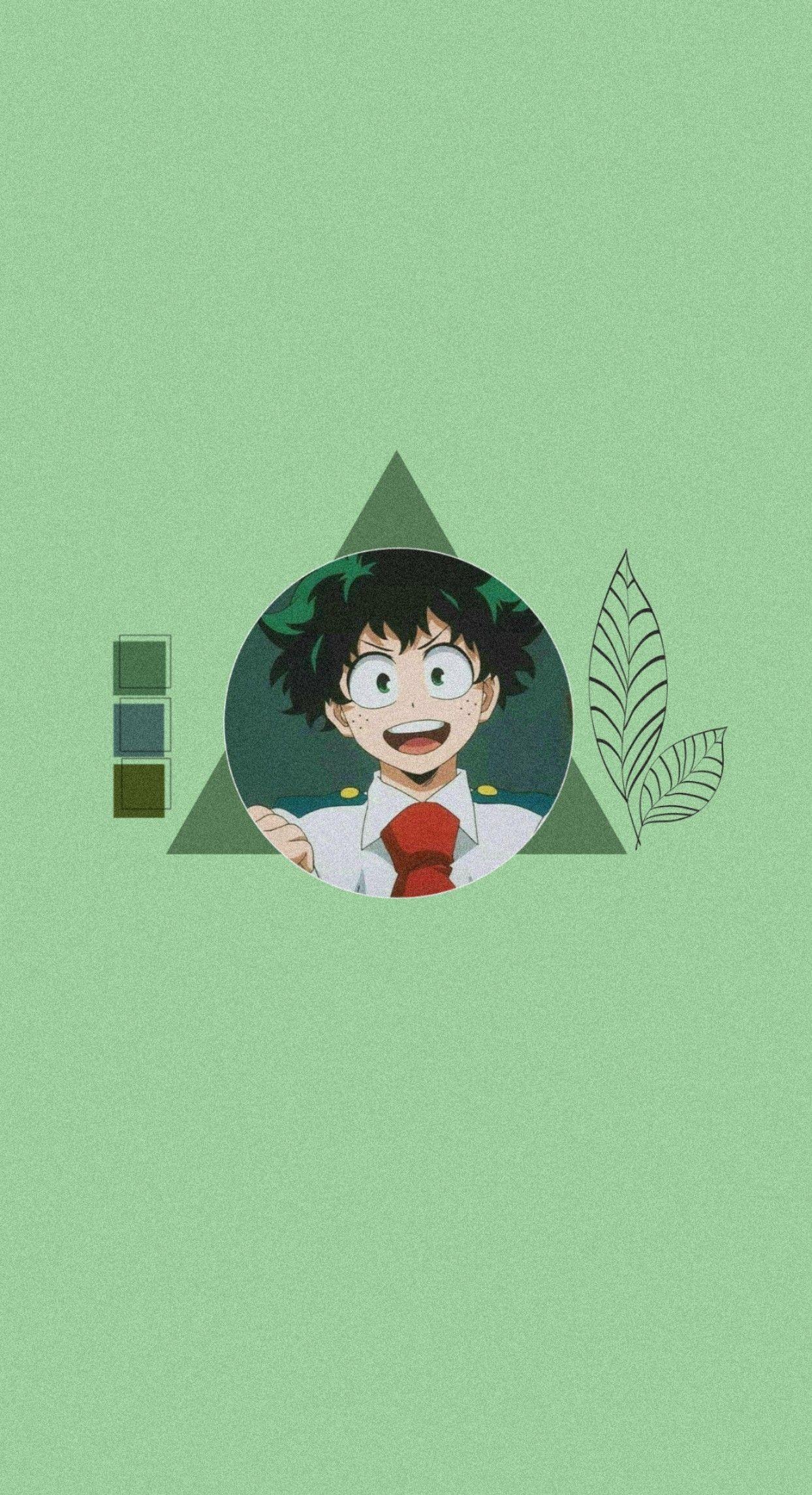 Deku Anime Wallpaper Iphone Hero Wallpaper Anime Wallpaper Anime boy ego wallpaper