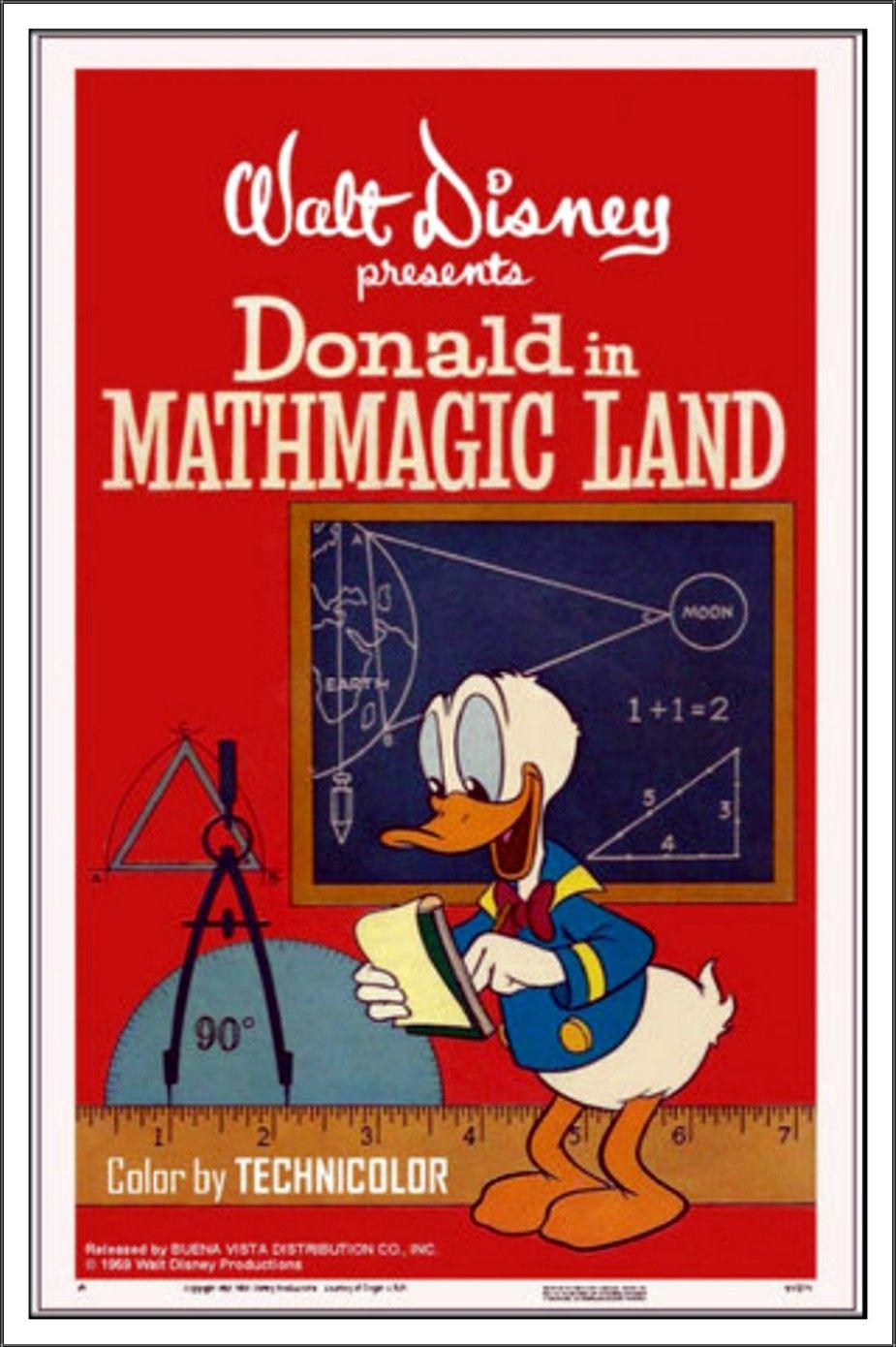 Donald Duck In Mathmagic Land Worksheet / Resource Artist ...