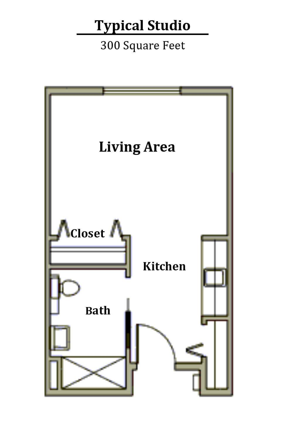 Image Result For Studio Floor Plans 300 Sq Ft Studio Floor Plans Floor Plans How To Plan