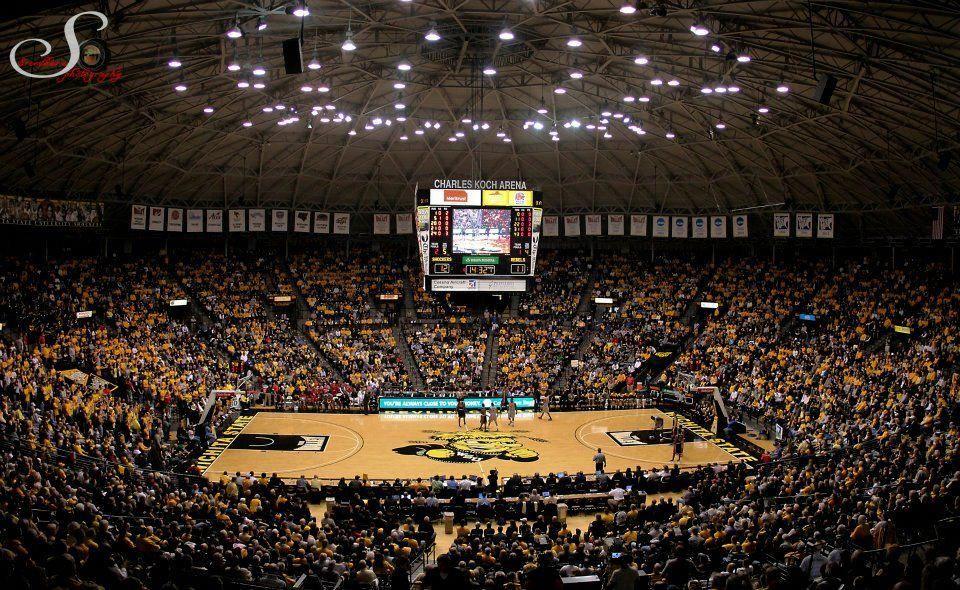 Charles Koch Arena - Wichita State University, Wichita, KS ... on koch arena seating guide, koch arena seating chart, koch arena map, koch arena events,