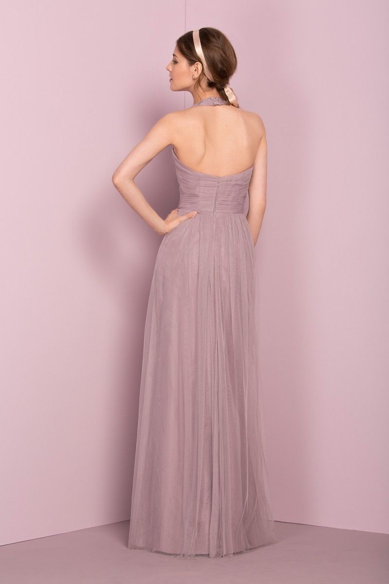 Bridesmaid dresses, lilac bridesmaids dresses, grey bridesmaids ...