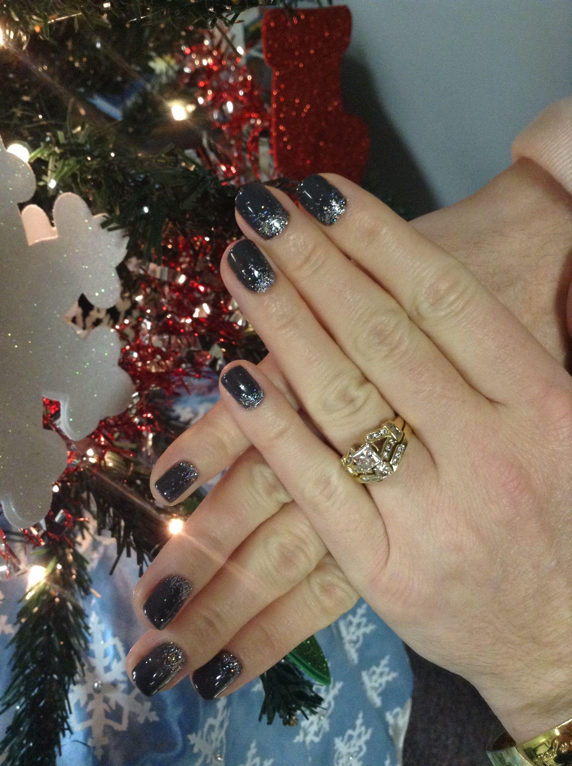 Fun winter nails. Evolution salon and spa cape may nj. Www ...