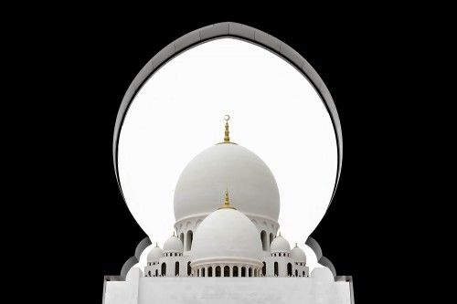 Sheikh Zayed Mosque Dome by Sedef ISIK