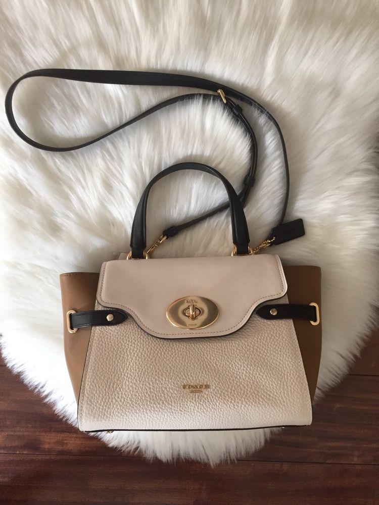 Coach Blake Turnlock Flap Carryall Crossbody Satchel Handbag  fashion   clothing  shoes  accessories  womensbagshandbags (ebay link) 6ae570e87d530