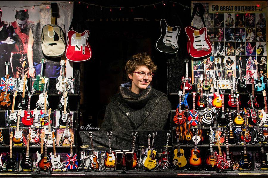 Miniature Guitar Shop