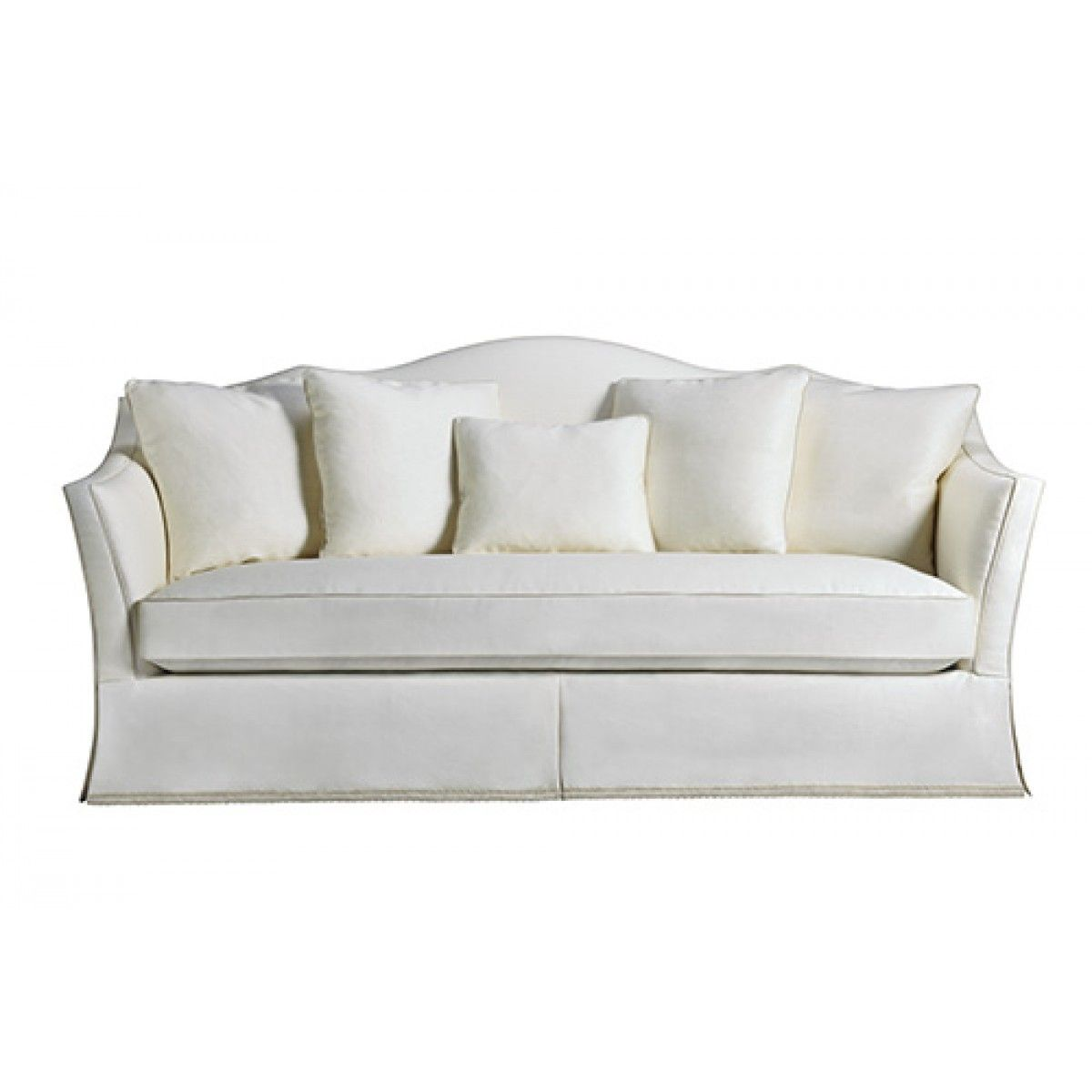 Baker Classics Camelback Sofa 6536s Sofa Couch Design White
