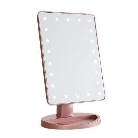 Miroir Maquillage Rose Gold