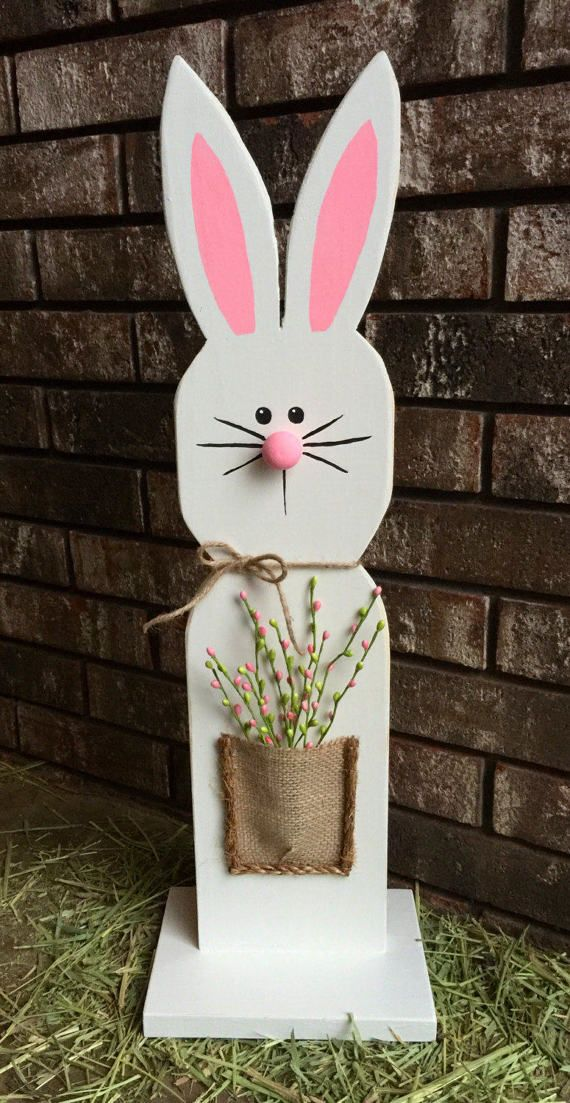 Pin By My Salvaged Style On Easter Decor In 2020 Easter Decorations Outdoor Spring Easter Decor Easter Outdoor
