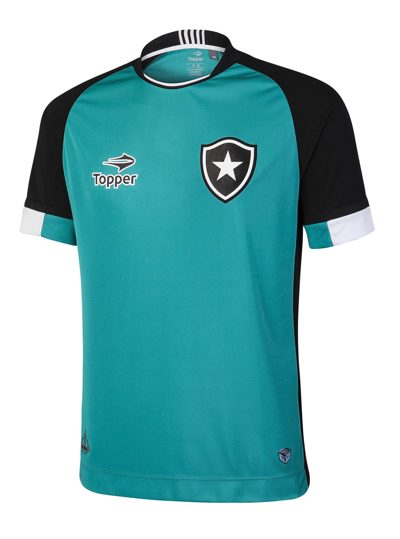 Camisa para goleiro - jade com preto  38939d8d57834