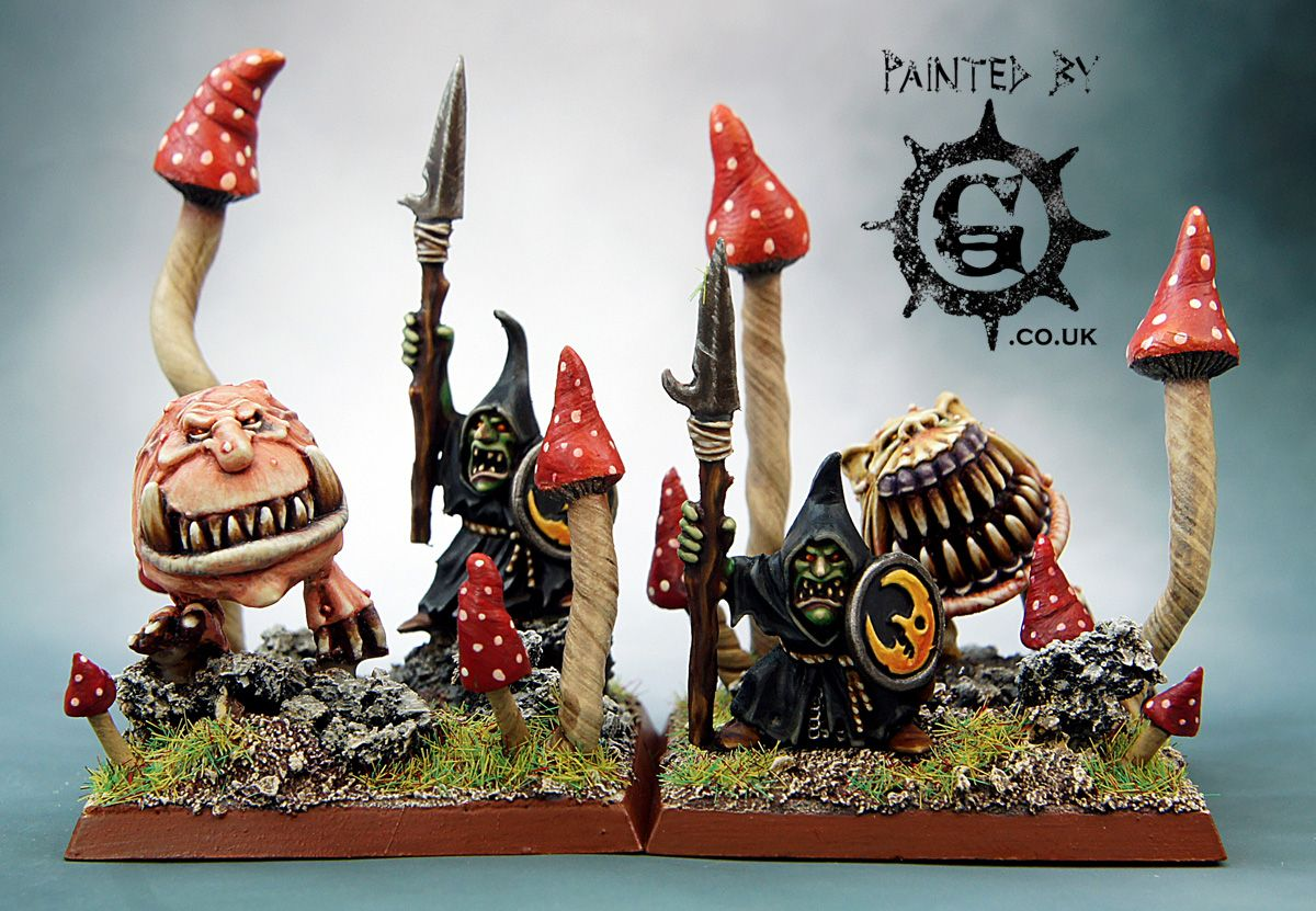 Peindre Decor Warhammer Night Goblin Unit Fillers For Orcs And Goblins Warhammer Fantasy But