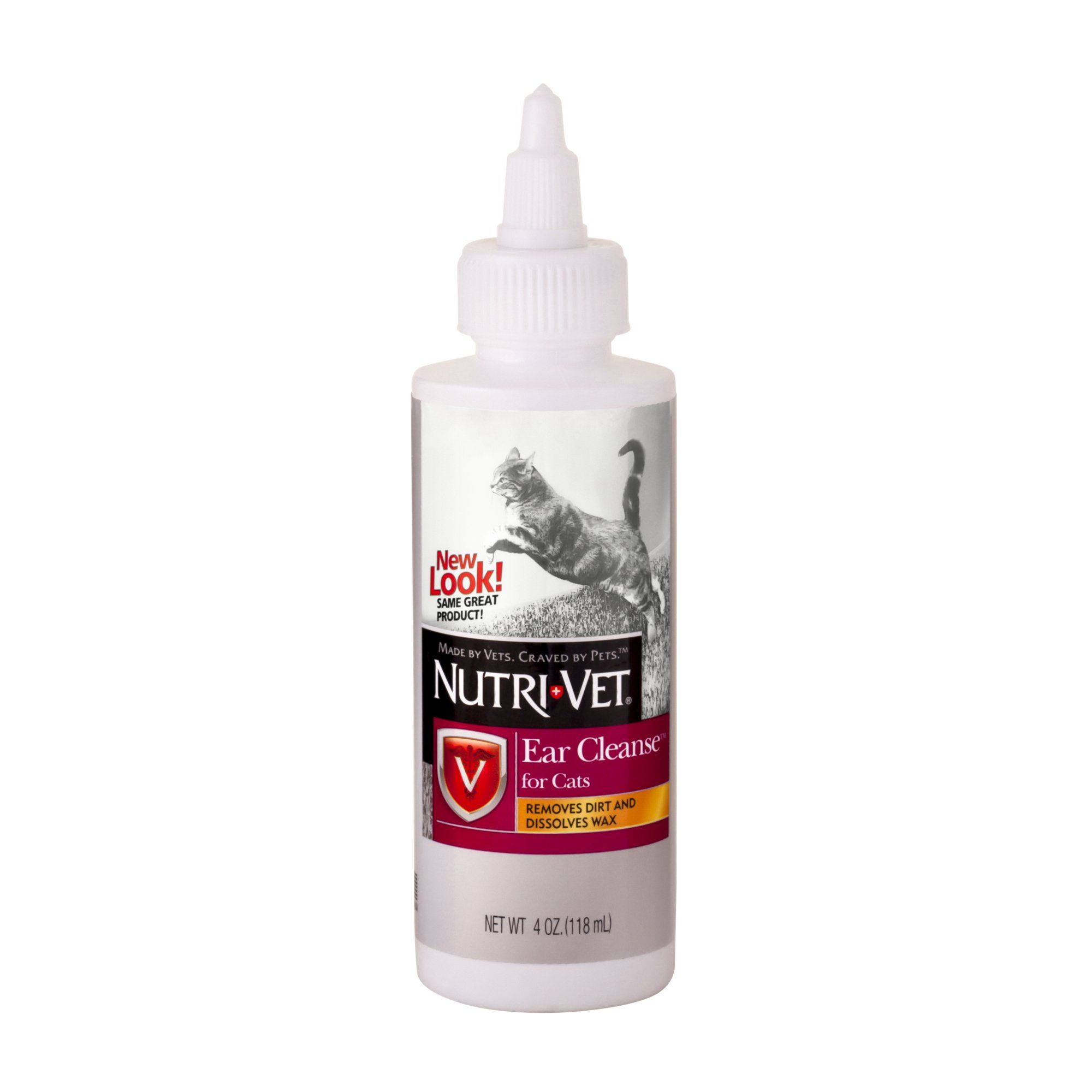 NutriVet Cat Ear Cleaner, 4 FZ in 2019 Cats, Ear