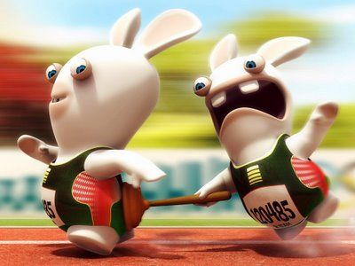 Hang In There And Hold On Rayman Raving Rabbids Cartoon