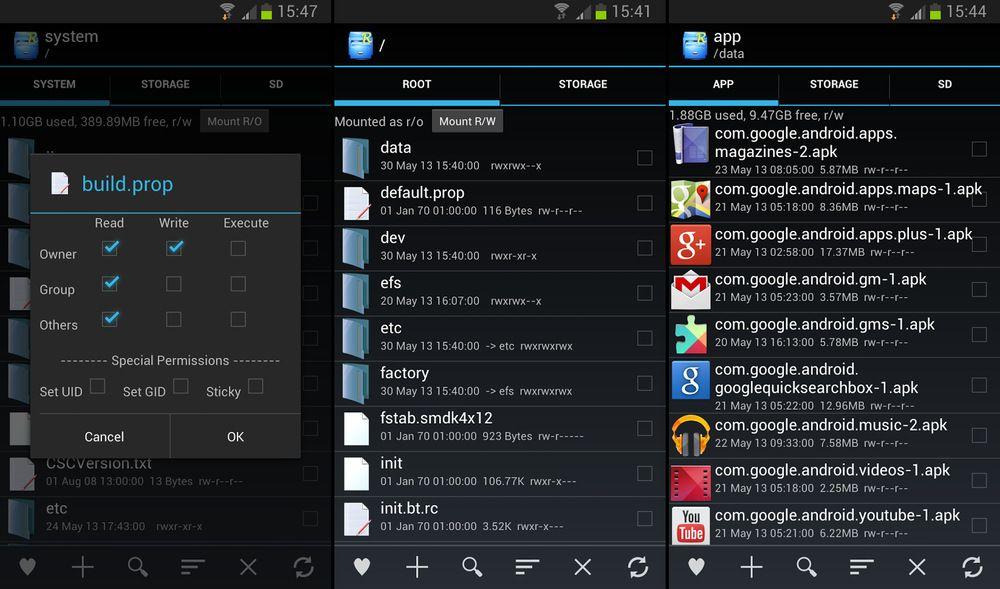 download the app root explorer