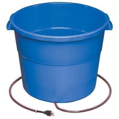 Allied Precision Heated Bucket 16 Gal Water Bucket Horse Water Bucket