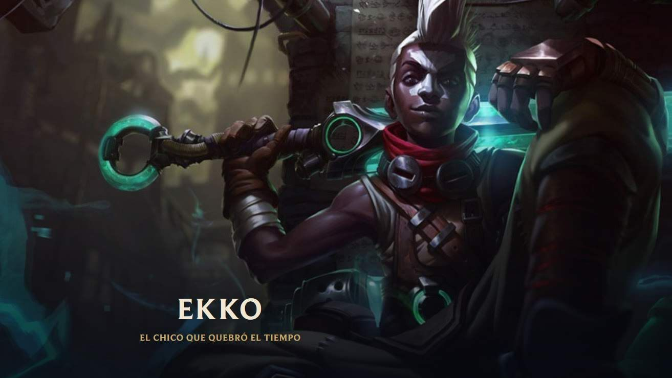 Ekko 60 Campeones Del Universo De League Of Legends