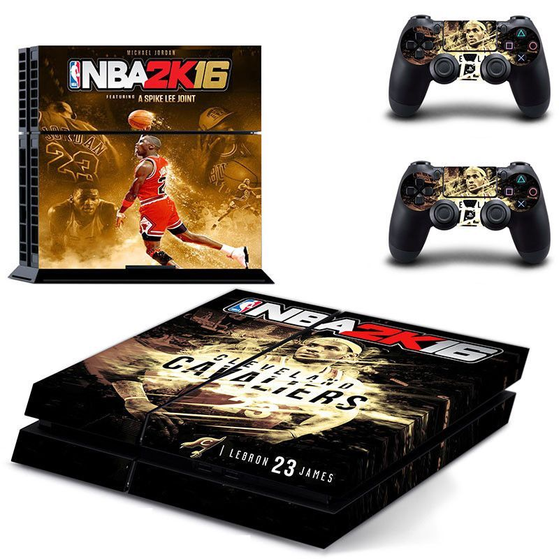 Video Games & Consoles Nba 2k18 1 Sticker Console Decal Playstation 4 Controller Vinyl Ps4 Skin