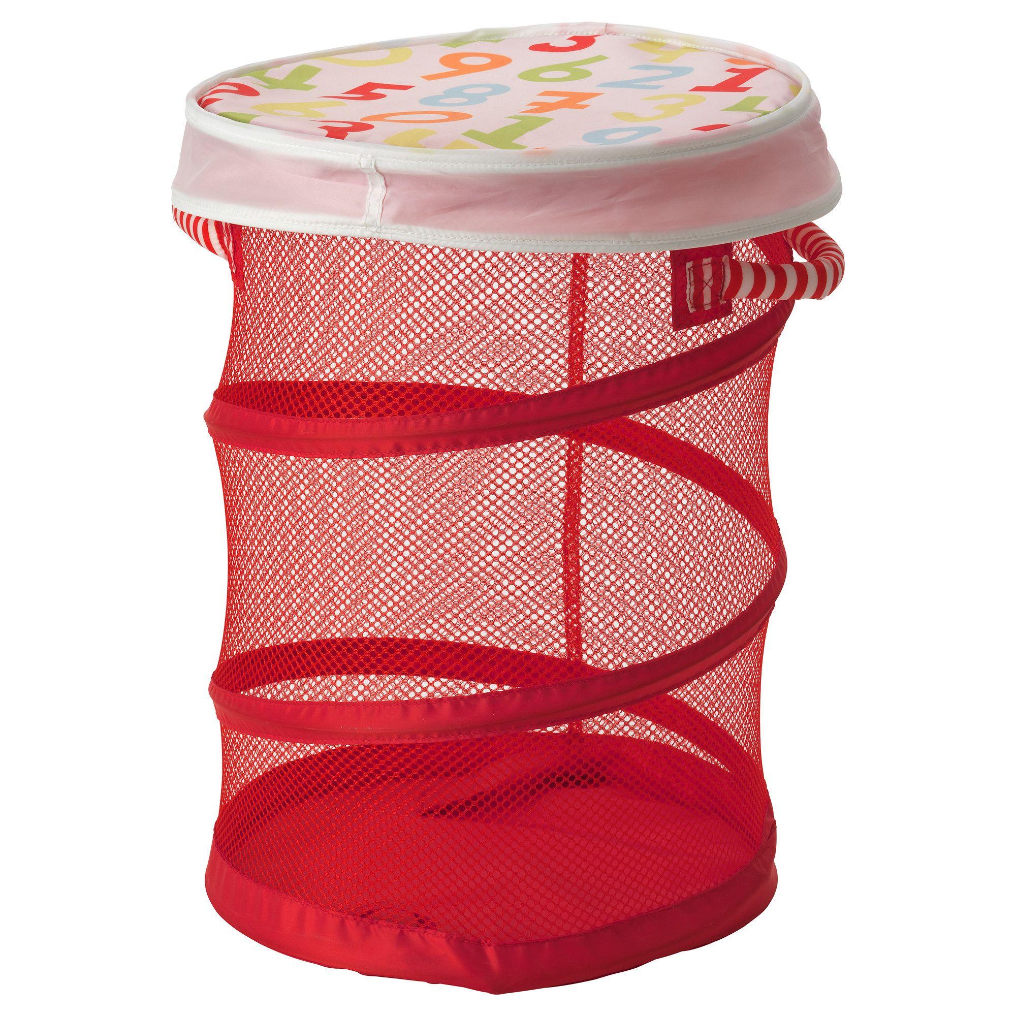 kusiner corbeille filet couvercle rouge ikea coups. Black Bedroom Furniture Sets. Home Design Ideas