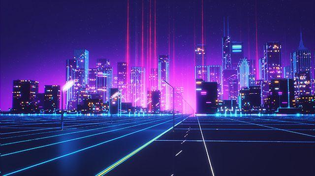 80s Style Retrowave Animation Retro Waves Synthwave Vaporwave