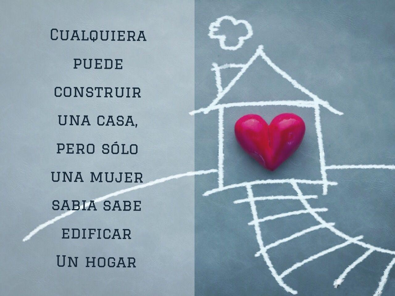 Construir Una Casa O Un Hogar Pensamientos Positivos