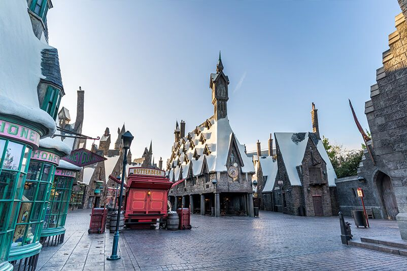 The Wizarding World Of Harry Potter Rides Attractions Universal Studios Hollywood Los Angeles Wizarding World Travel Usa Wizarding World Of Harry Potter