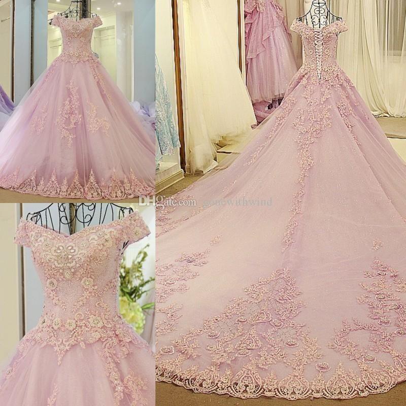 Sexy Soft A Line Wedding Dresses 2018 Liz Martinez Bridal Sleeveless Deep Plunging V Neck Full Embellishment Short Train