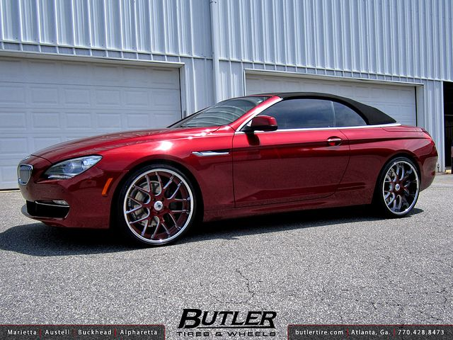 Bmw 650i Convertible With 22in Asanti Da174 Wheels Flickr Photo Sharing