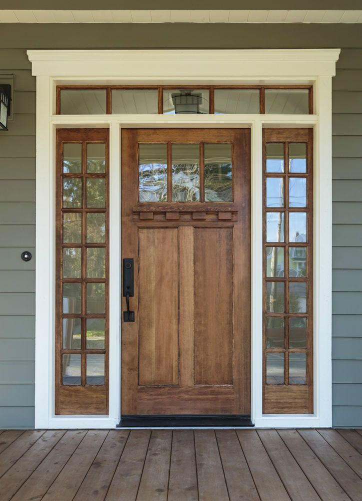 Solid Pine Wood Front Door Made To Any Size 499 In Home Furniture